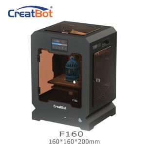 China Metal Frame Creatbot F160 Peek 3d Printter Single Extruder 3d Printer 160*160*200mm on sale