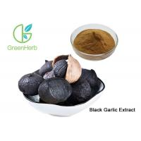 China Pure Black Garlic Extract Powder Allium Sativum L Brown Yellow Color on sale