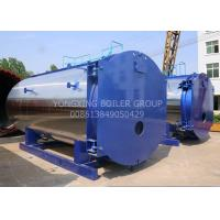 WNS15ton 1.25Mpa New Design Low-nitrogen Condensing Gas Fired Steam Boiler For Industrial Manufactures