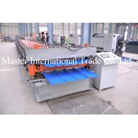 Aluminum Roofing Sheet Roll Forming Machine Double Layle Metal Tile Making Machine In China Manufactures