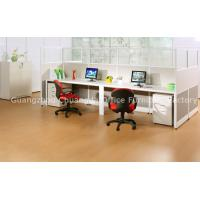 China White Board&Aluminum frame Office Furniture Workstations CD-T3-8842 with 4 moving cabinets on sale