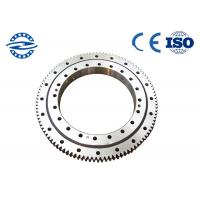 Single Row Four Point Contact Ball Slewing Bearing External Gear For Axial Load CRB3010 Manufactures