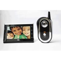 Audio 2.4ghz Villa Video Door Phone Wireless With CE FCC RoHS Manufactures