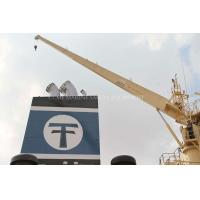 Buy cheap Straight Boom Marine Crane Ship Crane from wholesalers