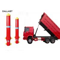 Telescopic Multi Stage Hydraulic Cylinder Single Acting Dump Truck Hydraulic Oil Cylinder Manufactures