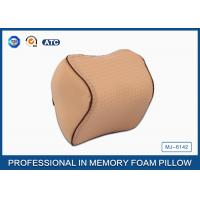 Orthopedic Design Memory Foam Travel Neck Rest Pillow with Adjustable Strap Manufactures