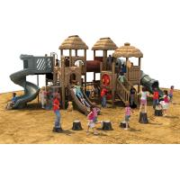 Amusement Park Outdoor Playground Type Plastic Playground Material slide Manufactures