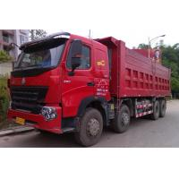 Large Capacity 30T 8x4 12 Wheeler Front Lifting Tipper Truck For Transporting Sand Manufactures