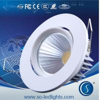 China 24w adjustable led ceiling light with silver color on sale