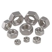 Construction Thick Galvanized Hex Nut Zinc Plated Clean Smooth Surface Manufactures