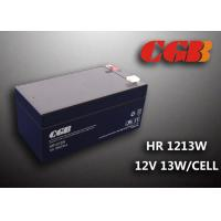 HR1213W 12V 3.5AH High Rate Discharge Battery , Security Long Life Lead Acid Battery Rechargeable Manufactures