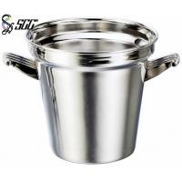 Customized Durable Stainless Steel Wine Bucket With Glossy Surface Manufactures
