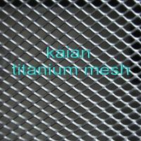 Buy cheap titanium wire mesh,platinum titanium mesh,titanium anode mesh from wholesalers