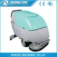 CE approved walk behind floor scrubbing machines Manufactures