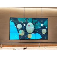 China Seamless Narrow Bezel LCD Video Wall HD 4K Resolution display for  CCTV center on sale