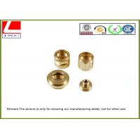 Industrial CNC Brass shaft High Precision Mechanical Components Manufactures