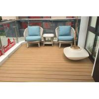 Polishing Treatment WPC Deck Flooring For Walk Road / Garden Non Slip Manufactures