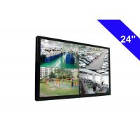 VF 56-75 HZ CCTV LCD Monitor Wall Mount , 65W CCTV TV Monitor 24 Inch Manufactures