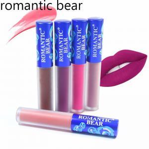 wholesale new fashionRomantic Bear lipgloss lips care makeup Liquid Matte Lipgloss Waterproof nutritious batom mate Lip Manufactures