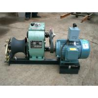 Power Construction 3 Ton Electric Cable Pulling Winch With Electric Engine Manufactures