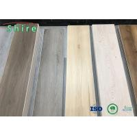 Vivid Wood Texture Emboss Surface Spc Vinyl Flooring With High Strength Manufactures