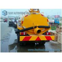 Foton Forland Vacuum Suction Fecal Tank Sanitation Truck 4x2 2000L