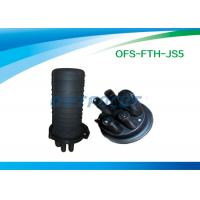 China Black 6 Splicing Fiber Optic Cable PC for Aerial / Buried / Pipe on sale