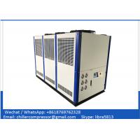 PLC Automatic Control System 208V 440V 30hp Brewery Glycol Chiller For Cooling Beer Manufactures