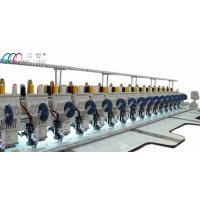 Industrial Computerised multi needle sequin embroidery machine for fabric Manufactures