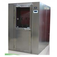 China Laboratory Decontamination Air Shower Tunnel With Single Swing Door on sale