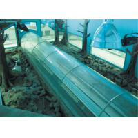 High clear large acrylic tunnel , Cast Acrylic Sheet for Aquarium Manufactures