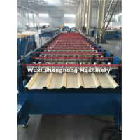 Coated Sheet Steel Cold Roll Forming Machine With Touch Screen PLC Frequency Control Manufactures