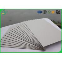 High Stiffness Double Grey Board Paper 300gsm 350gsm Smooth Surface For Wine Box Manufactures