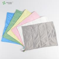 3 Layers Anti Static Microfiber Cloth Good Hygroscopic For Cleanroom Manufactures