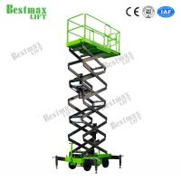 500Kg Hydraulic Lift Platform Scissor Lift For Working At Height 12 Meters Man Lift Manufactures