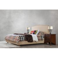 Quality Glassic design of Leisure Bedroom Furniture Upholstered Headboard Bed by True for sale