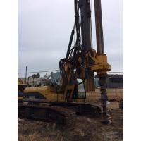 Hydraulic Rotary Pile Driving Rig For Bored Pile Foundation 43M Depth 1.3M Dia KR125C Manufactures