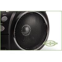 """Top-loading Rotary Volume Control Portable DVD Radio Player With 3.5"""" * 2 Speakers"""