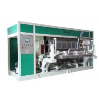 Waste Paper Egg Tray / Egg Carton / Fruit Tray Production line 6000Pcs / Hour Manufactures