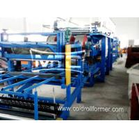 China EPS/Rockwool Insulated Sandwich Panel Production Line on sale