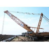 Durable Knuckle Boom Jib Hydraulic Crawler Crane For Lifting 180tons Goods Manufactures