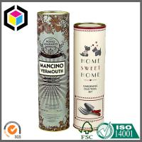 Paper Core Tube with Metal Cap; Matte Color Printing Luxury Paper Tube Manufactures