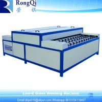 China Horizontal Type Industrial Glass Washing Machine on sale