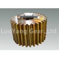 Custom Steel CNC Machining Gears , Cylindrical Gear For Gear Reduction Box Manufactures
