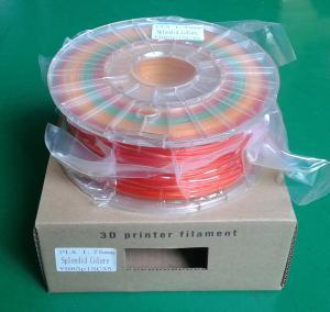 3 colors/spool spendid PLA filament Manufactures