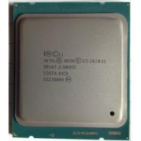 China E5 - 2670 V2 Intel Xeon 2.5Ghz FCLGA2011 10 - Cores 25 Clock multiplier on sale