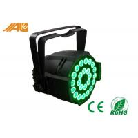 Red Green Blue White Amber RGBWA 5 in 1 Led Par 64 Dj Par Cans Stage Show Lighting Manufactures