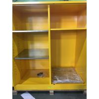Flammable Goods Storage Cabinets With Earthing Socket For Combustible Liquid / Paint