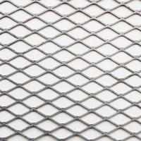 Satellite Diamond Metal Mesh , Excellent Corrosion Resistance Flat Expanded Metal Mesh Manufactures