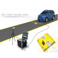 2048 Line CCD Mobile Under Vehicle Search Inspection System For Security Manufactures